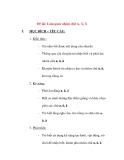 Giáo án chương trình đổi mới Đề tài: Làm quen nhóm chữ A, Ă, Â