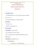 Giáo án chương trình mới: Lớp lá  Đề tài: Làm quen chữ cái O, Ô, Ơ