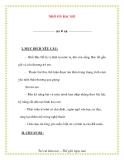 Giáo án chương trình mới: Lớp lá NHỚ ƠN BÁC HỒ