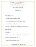 Giáo án chương trình mới: Lớp lá  Đề tài: Nòng nọc tìm mẹ