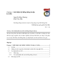 HỆ THỐNG THÔNG TIN ĐỊA LÝ GIS - Chương 1