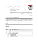 HỆ THỐNG THÔNG TIN ĐỊA LÝ GIS - Chương 3