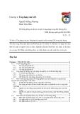 HỆ THỐNG THÔNG TIN ĐỊA LÝ GIS - Chương 4