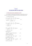 Giáo trình MÔ HÌNH HOÀN LƯU BIỂN VÀ ĐẠI DƯƠNG - Chương 2