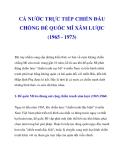 CẢ NƯỚC TRỰC TIẾP CHIẾN ĐẤU CHỐNG ĐẾ QUỐC MĨ XÂM LƯỢC (1965 - 1973)_1