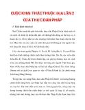 CUỘC KHAI THÁC THUỘC ĐỊA LẦN 2 CỦA THỰC DÂN PHÁP _1