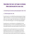 TÌNH HÌNH THẾ GIỚI, VIỆT NAM VÀ PHONG TRÀO CÁCH MẠNG VN 1936-1939_1