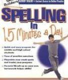 Junior Skill Builders - Spelling in 15 minutes a day