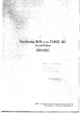 Developing Skills for the TOEFL Intermediate 2nd Edition_Part1