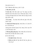 Giáo trình tin học 12 - Tiết 27  Biểu mẫu (Form)