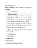 Giáo trình tin học 12 Chương 1:Khái niệm về cơ sở dữ liệu và hệ quản trị cơ sở dữ liệu Tiết 4