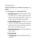 Giáo trình tin học 12 Chương 1:Khái niệm về cơ sở dữ liệu và hệ quản trị cơ sở dữ liệu Tiết 2