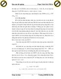 Hình thành phương pháp tính toán và thiết kế mạch điều khiển nhiệt độ trong tủ nuôi cấy vi khuẩn theo phương pháp ứng dụng lý thuyết (part 8)