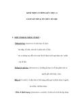 KHÁI NIỆM về THỐNG KÊ Y HỌC và CÁCH SẮP XẾP & TỔ CHỨC SỐ LIỆU