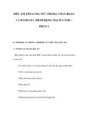 SIÊU ÂM TIM GẮNG SỨC TRONG CHẨN ĐOÁN VÀ ĐÁNH GIÁ BỆNH ĐỘNG MẠCH VÀNH – PHẦN 2