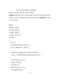 Giáo trình Ngôn ngữ lập trình C p8
