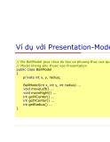Lập trình Java cơ bản : GUI nâng cao part 9