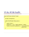 Lập trình Java cơ bản : Multithreading part 4
