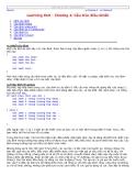 Learning Perl - Cấu trúc điều khiển