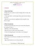 Giáo án giảng dạy lớp Chồi: Chủ đề: Chú mèo con
