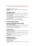 Giáo án giảng dạy khối lớp Lá: Chủ đề nhánh: GIA ĐÌNH CỦA BÉ