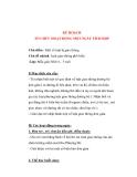 Giáo án giảng dạy khối lớp Lá: Chủ đề nhánh: Luật giao thông phổ biến(P1)