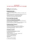 Giáo án giảng dạy khối lớp Lá:  Chủ đề nhánh: Luật giao thông phổ biế(P2)