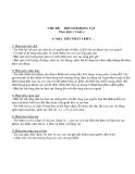 Giáo án giảng dạy khối lớp Lá: CHỦ ĐỀ: THẾ GIỚI ĐỘNG VẬT