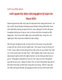 triết học Mác-lênin:mối quan hệ biện chứng giữa lý luận và thực tiễnQuan