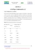 CÔNG NGHỆ MÔI TRƯỜNG - CHƯƠNG 4 CƠ SỞ QUÁ TRÌNH HOÁ LÝ
