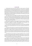 LÝ THUYẾT HÀM NGẪU NHIÊN TRONG KHÍ TƯỢNG THỦY VĂN - Chương 1