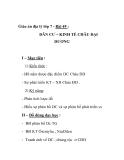 Giáo án địa lý lớp 7 - Bài 49 : DÂN CƯ – KINH TẾ CHÂU ĐẠI DƯƠNG