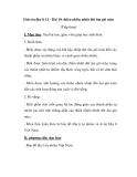 Giáo án địa lý 12 - Bài 10: thiên nhiên nhiệt đới ẩm gió mùa (Tiếp theo)