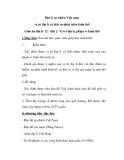 Giáo án địa lý 12 - Bài 2: Vị trí địa lí, phạm vi lãnh thổ