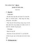 Giáo án địa lý lớp 7 - Bài 31 : KINH TẾ CHÂU PHI (tiếp theo)