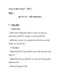 Giáo án địa lý lớp 7 - Tiết 3 Bài 3 : QUẦN CƯ – ĐÔ THỊ HOÁI