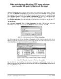 Giáo trình hướng dẫn dùng FTP trong window commander để quản lý tập tin và thư mục p1