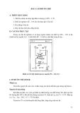 GIÁO TRÌNH  THỰC TẬP ĐIỆN TỬ & KỸ THUẬT SỐ 2 - Bài 11