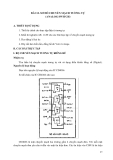 GIÁO TRÌNH  THỰC TẬP ĐIỆN TỬ & KỸ THUẬT SỐ 2 - Bài 12