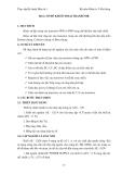 GIÁO TRÌNH THỰC TẬP ĐIỆN TỬ & KỸ THUẬT SỐ 1 - Bài 2