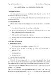 GIÁO TRÌNH  THỰC TẬP ĐIỆN TỬ & KỸ THUẬT SỐ 1 - Bài 3