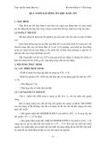 GIÁO TRÌNH  THỰC TẬP ĐIỆN TỬ & KỸ THUẬT SỐ 1 - Bài 5