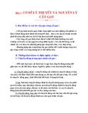 Nguyên lý cắt : CƠ SỞ LÝ THUYẾT VÀ NGUYÊN LÝ CẮT GỌT part 1