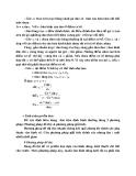 Nguyên lý cắt : THIẾT  KẾ DAO TIỆN ĐỊNH HÌNH part 2