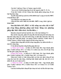 Nguyên lý cắt : VẬT LIỆU LÀM DAO part 2