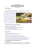 Sinh thái học nông nghiệp : Hệ sinh thái nông nghiệp part 1