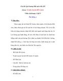 Chủ đề: Quê hương-Đất nước-Bác Hồ Đề tài: Truyện Sự tích Hồ Gươm