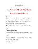 Đạo đức (Tiết 15):  Đề bài:  QUAN TÂM, GIÚP ĐỠ HÀNG XÓM, LÁNG GIỀNG (T2).