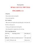 THỦ CÔNG LỚP 3: Đề bài: GẤP TÀU THUỶ HAI ỐNG KHÓI (Bài 2)