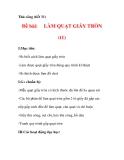 THỦ CÔNG LỚP 3: Làm quạt giấy(Bước 1)